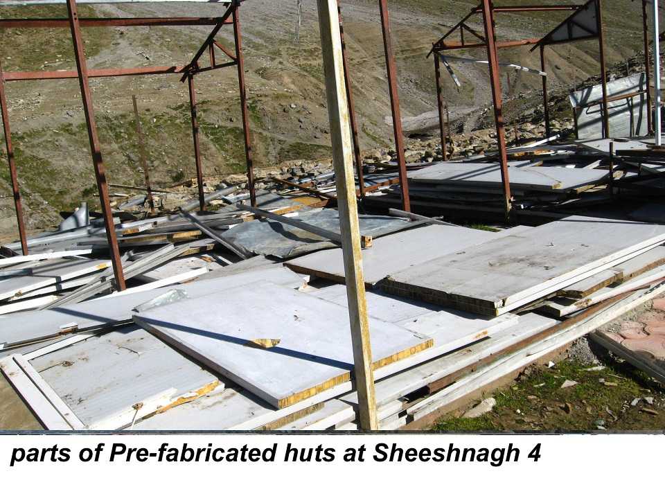 parts of Pre-fabricated huts at Sheeshnagh 4