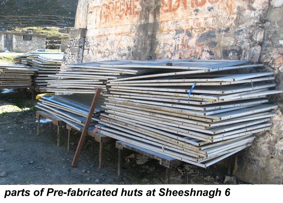 parts of Pre-fabricated huts at Sheeshnagh 6