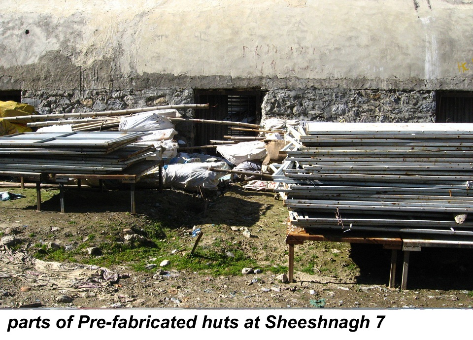 parts of Pre-fabricated huts at Sheeshnagh 7